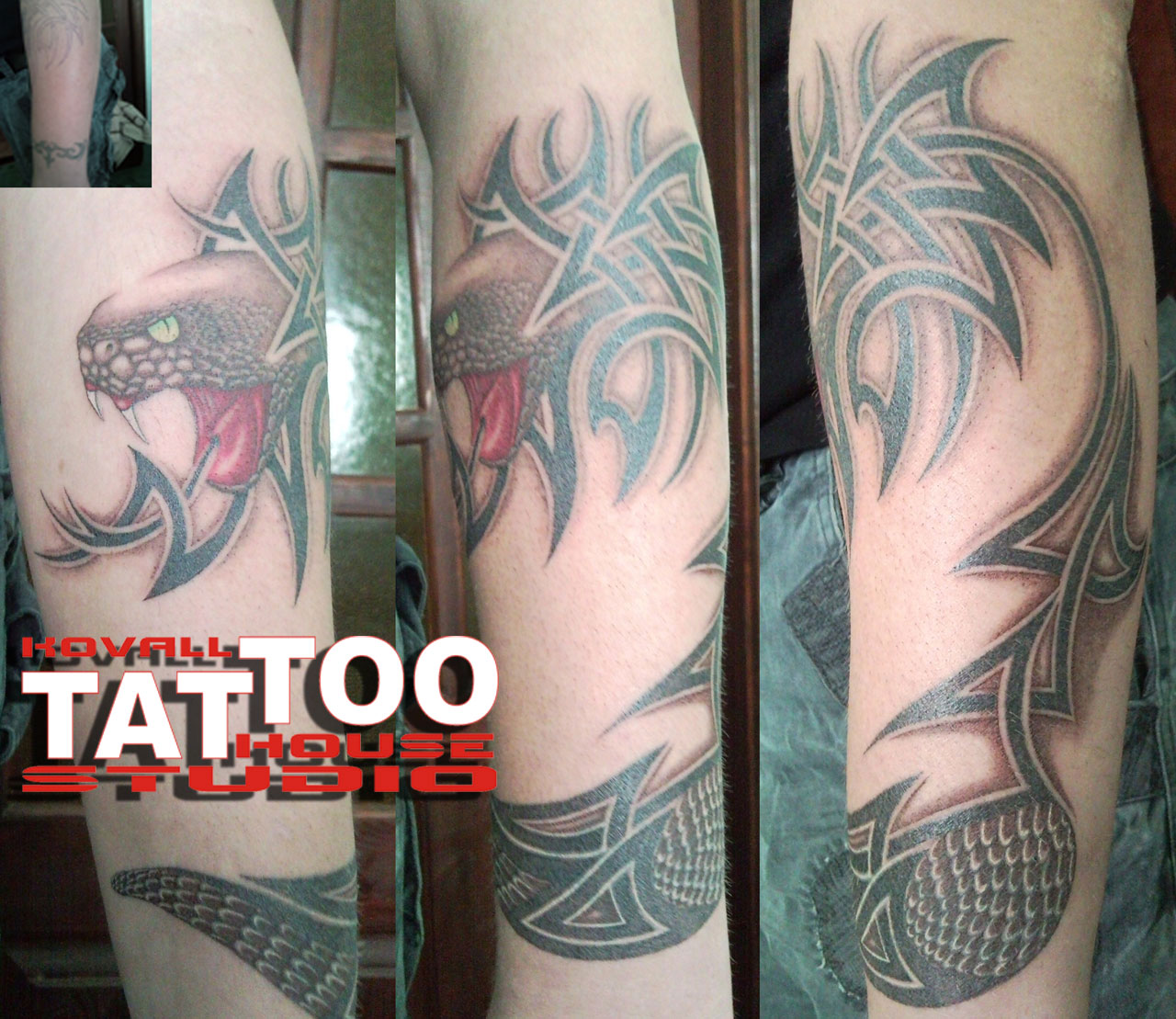 tattoo and work